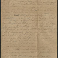 1918-02-23 Harvey Wertz to Mr. L.A. Wertz Page 2