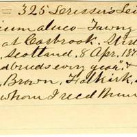 Clinton Mellen Jones, egg card # 878