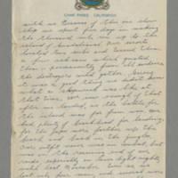 1944-02-25 Maurice Hutchison to Lloyd Davis Page 2