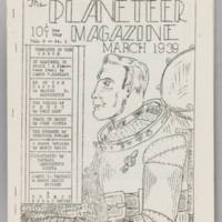 Planeteer Magazine, v. 2, isssue 1, March 1939