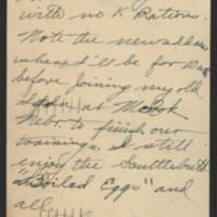 1944-11-23 Postcard - back