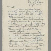 1942-07-26 Laura Davis to Lloyd Davis Page 1