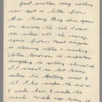 1942-08-14 Lloyd Davis to Laura Davis Page 1