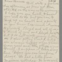 1943-05-12 Laura Hutchison to Laura Frances Davis Page 1