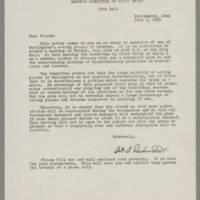 1955-07-01 Correspondence from Art A. Drebenstedt