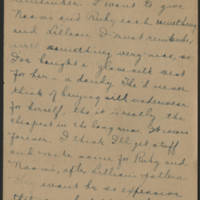 1918-12-07 Daphne Reynolds to Conger Reynolds Page 4