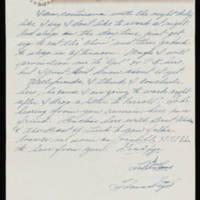 Thomas Vigil to Vira Steinbeck Page 3