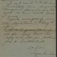 1945-06-15 Pfc. Roger Banks to Dave Elder Page 2