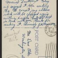 1944-10-13 Postcard - back