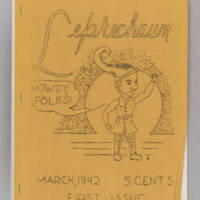 Leprechaun, v. 1, issue 1, March 1942