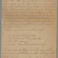 1945-10-20 Pfc. Bill Arnold to Dave Elder Page 2