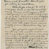 1918-06-08 Robert M. Browning To Dr. Mabel C. Williams Page 1
