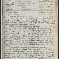 1944-12-22 Lt. Chas. Hotle to Dave Elder