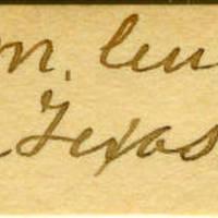 Clinton Mellen Jones, egg card # 703