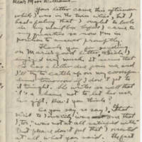 1917-10-27 Robert M. Browning to Mavel C. Williams Page 1