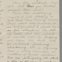 1943-03-07 Freda Caldwell to Laura Frances Davis Page 2