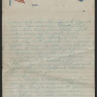 1918-05-30 Thomas Messenger to Mr. & Mrs. N.H. Messenger Page 3