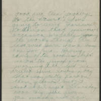 1918-08-10 Thomas Messenger Mrs. N.H. Messenger Page 3