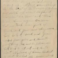 1918-11-12 Sgt. Harvey Wertz to Mr. L.A. Wertz Page 1