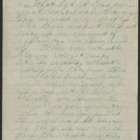 1918-08-10 Thomas Messenger Mrs. N.H. Messenger Page 4