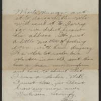 1918-03-14 Thomas Messenger to Mr. & Mrs. N.H. Messenger Page 4