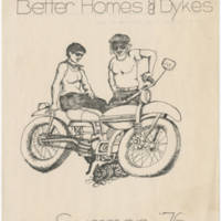 """Better Homes & Dykes"" Summer '76"
