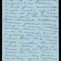 1945-10-15 Evelyn Burton to Vera Steinbeck Page 1