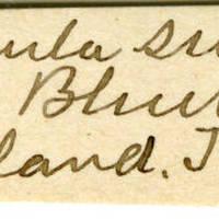 Clinton Mellen Jones, egg card # 668