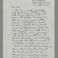 1942-11-13 Laura Davis to Lloyd Davis Page 1