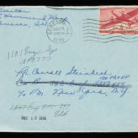 1945-10-12 Evelyn Burton to Carroll Steinbeck - Envelope