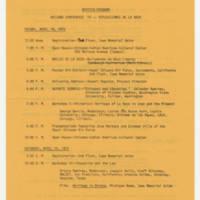 1975-04-18 Revised Program Page 1