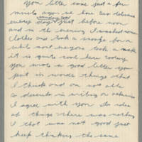 1942-08-16 Lloyd Davis to Laura Davis Page 1