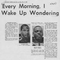"1968-12-17 Daily Iowan Article: ""UI's Black Athletes -- Some Happy Here, Others Not"" Page 2"