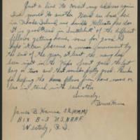 1945-07-17 James B. Hanna to Dave Elder