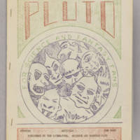 Pluto, v. 1, issue 3, July 1940