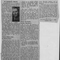"1950-06-08 Des Moines Register Article: ""Fear and Suspicion Imperil Freedom"""