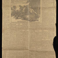 """1916-12-10 Des Moines Sunday Register Clipping: """"""""The Girl Of Temple Hill"""""""" By William Tillinghast Eldridge Page 1"""