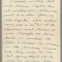 1942-08-13 Lloyd Davis to Laura Davis Page 1