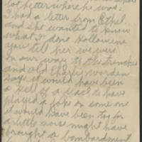 Wright Jolley to Mrs. S.R. Jolley Page 1