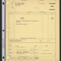 1971-10-04 Voucher and Invoice for Mr. Dennis Swanson