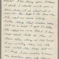 1943-10-26 Lloyd Davis to Laura Davis Page 1