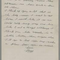 1943-01-20 Lloyd Davis to Laura Davis Page 2