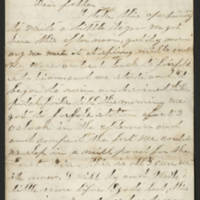 1862-03-10 Charles A. Gates to Arad Gates Page 1