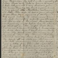 1861-11-29 Charles A. Gates to Mr. & Mrs. Arad Gates Page 2