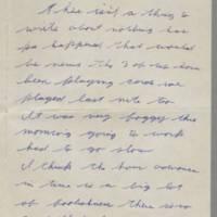 1942-02-05 Lloyd Davis to Laura Davis Page 1