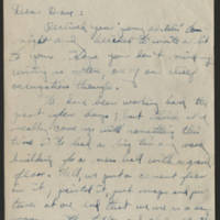 1945-11-03 Pfc. Robert J. Nicola to Dave Elder Page 1
