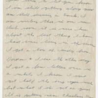 1943-12-19 Lloyd Davis to Laura Davis Page 1