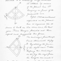 Eccentricity of the Sextant by Frederic Furbish, 1893, Page 27