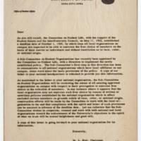 M.L. Huit Correspondence