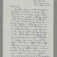 1942-11-05 Laura Davis to Lloyd Davis Page 1